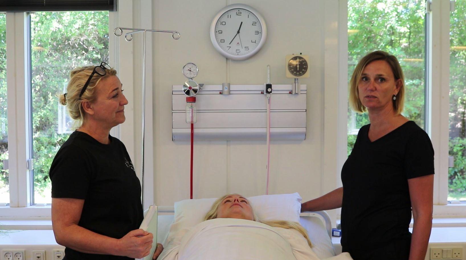 Trebindsværket i sygepleje (VIDEOER)